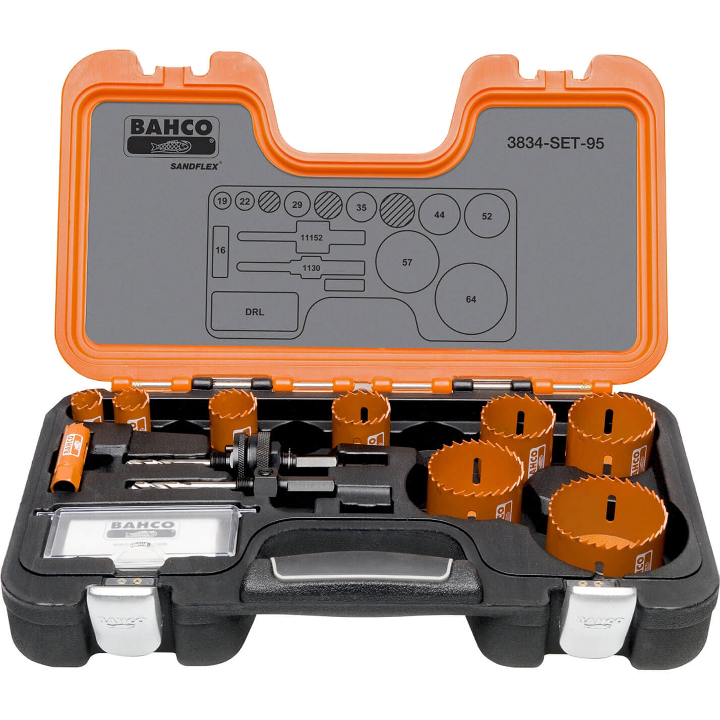 Bahco 14 Piece Professional Hole Saw Set 16-64mm