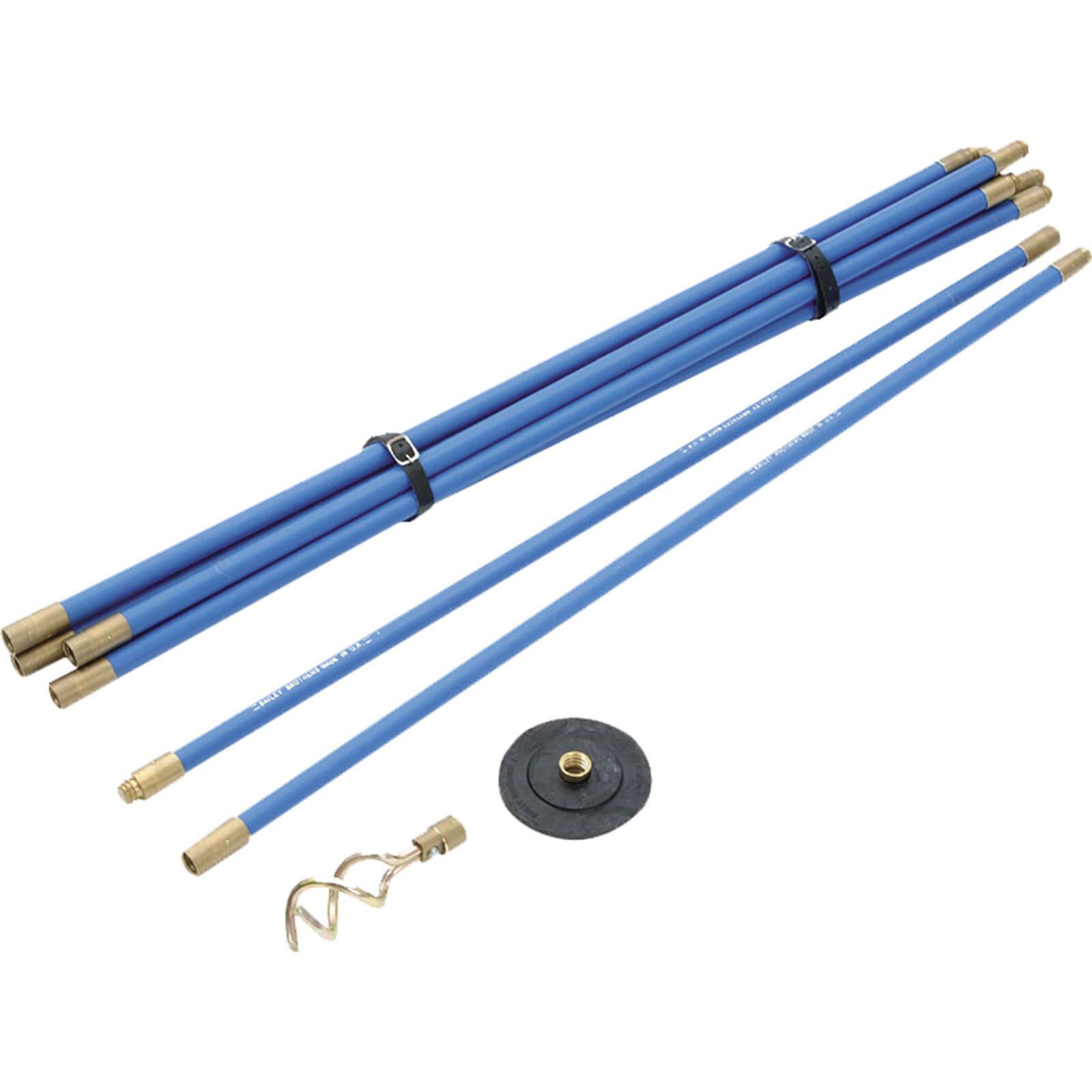 "Bailey 1470 Uni 3/4"" Drain Rod Set 2 Tools"