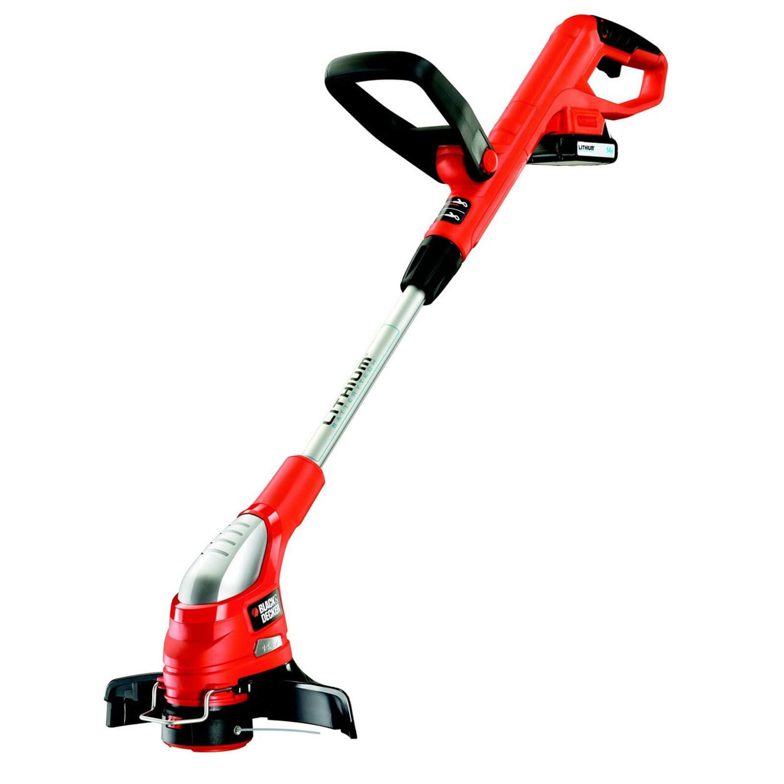 Black & Decker GLC1423L 14.4v Cordless Grass Trimmer with 1 Lithium Ion Battery 1.1ah