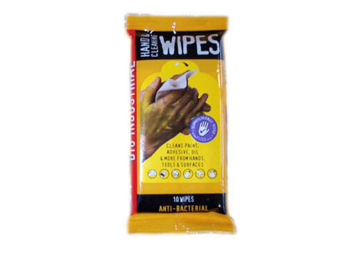 Big Wipes Industrial Cleaning Wipes Sachet of 10 Wipes