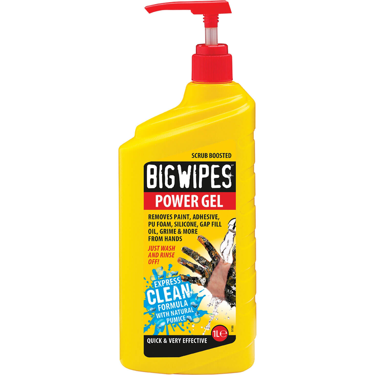 Big Wipes Gel Hand Cleaner Spray 1L