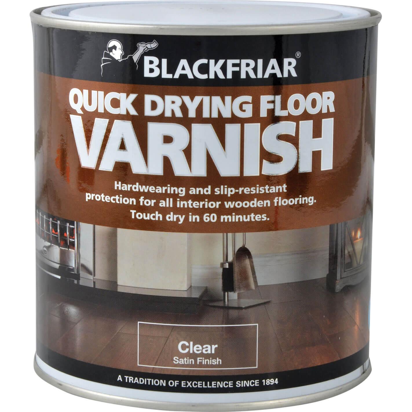 Blackfriar Duratough Floor Varnish Satin 1L
