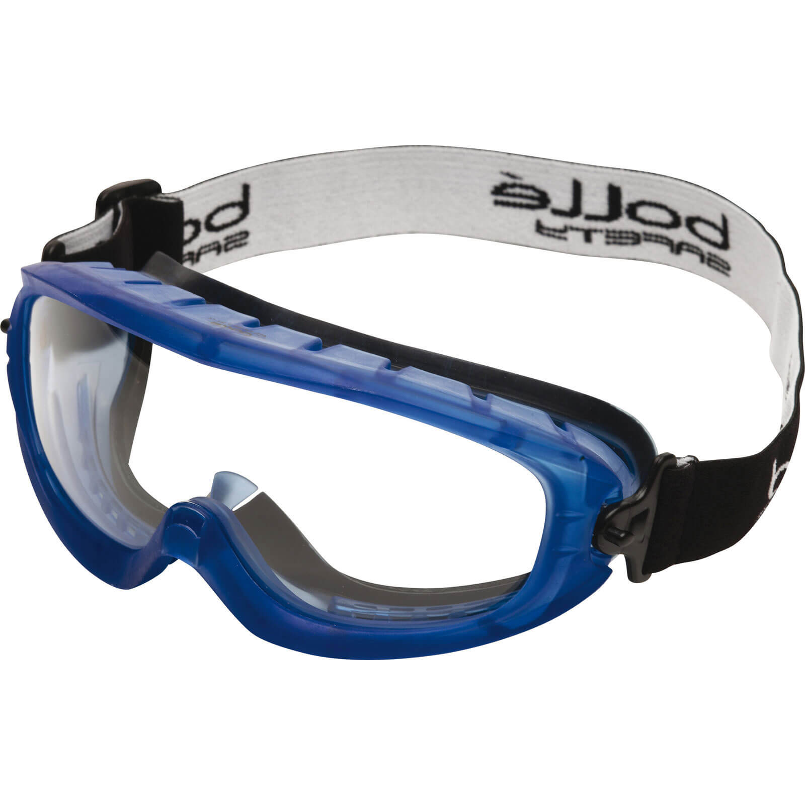 Bolle Atom ATOFAPSI Clear Blue Anti Scratch & Anti Fog Safety Goggles