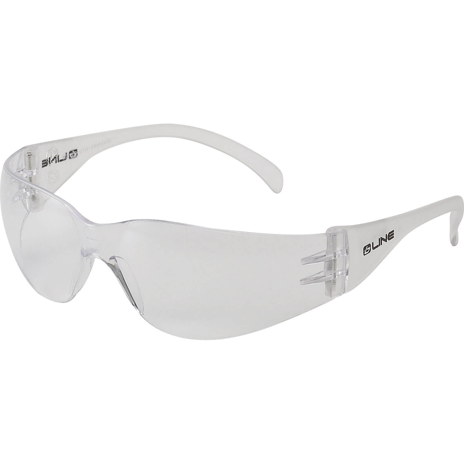 Bolle B-Line BL10CI Anti Scratch Clear Safety Glasses