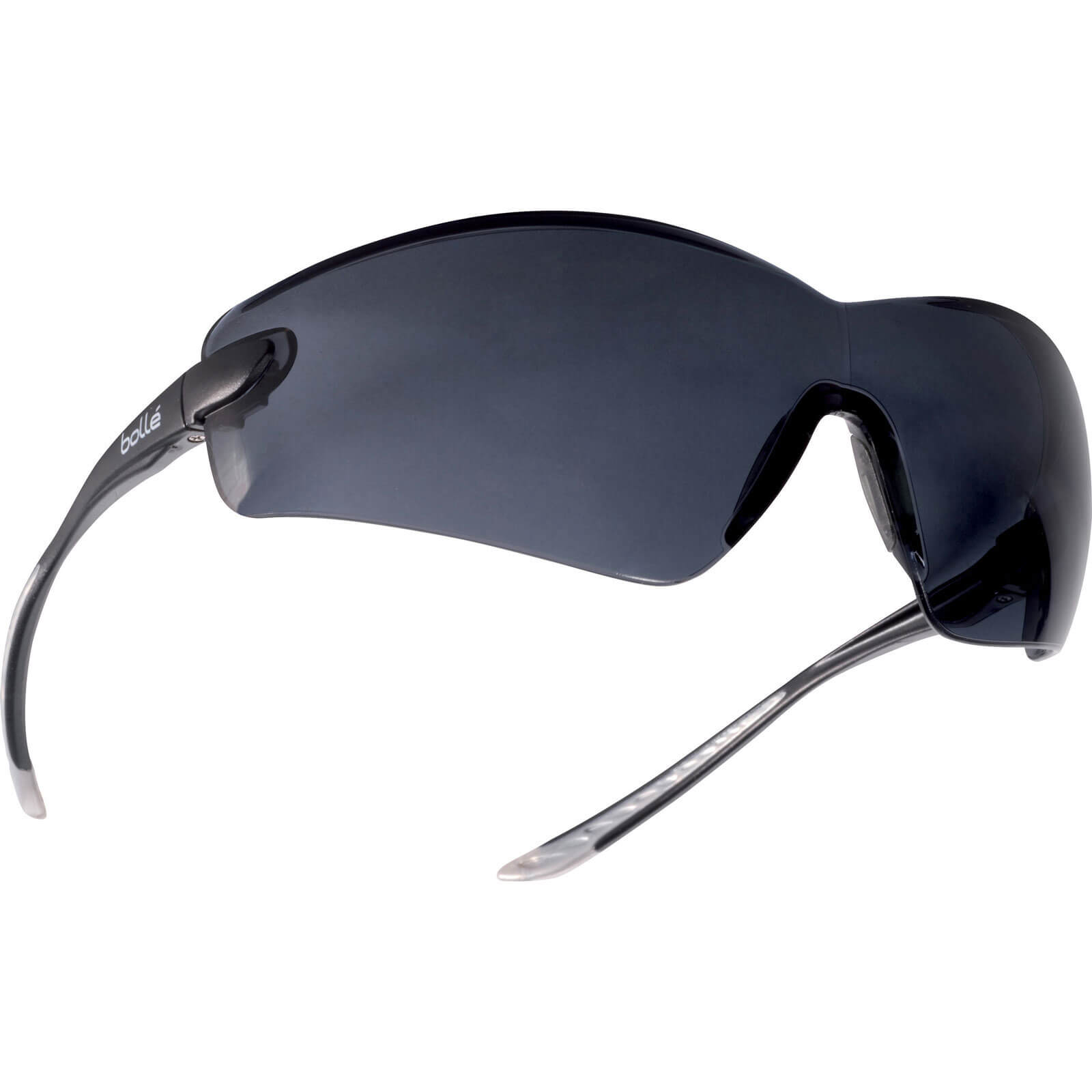Bolle Cobra COBPSF Anti Scratch & Anti Fog Smoke Safety Glasses with Strap