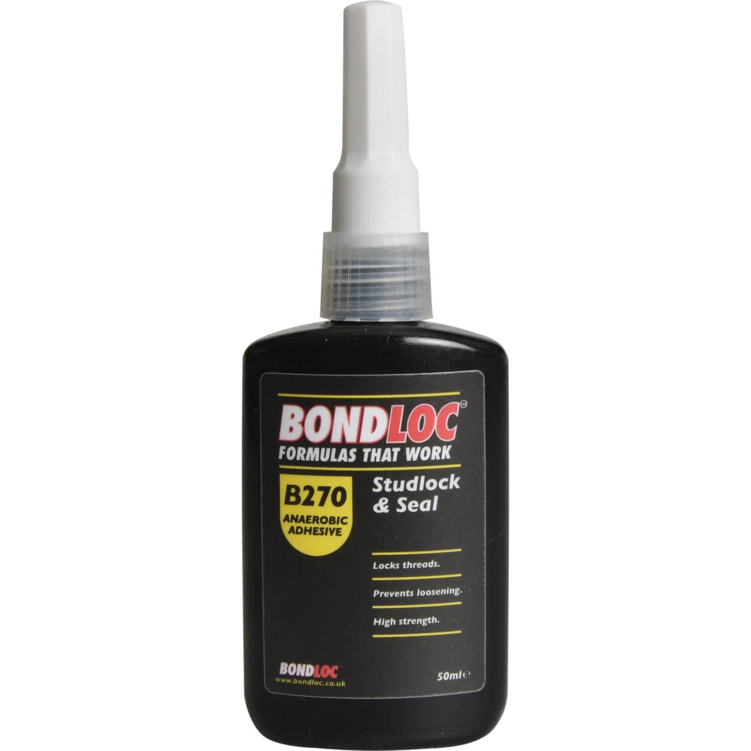 Bondloc B270 Studlock High Strength Threadlocking Sealant 50ml