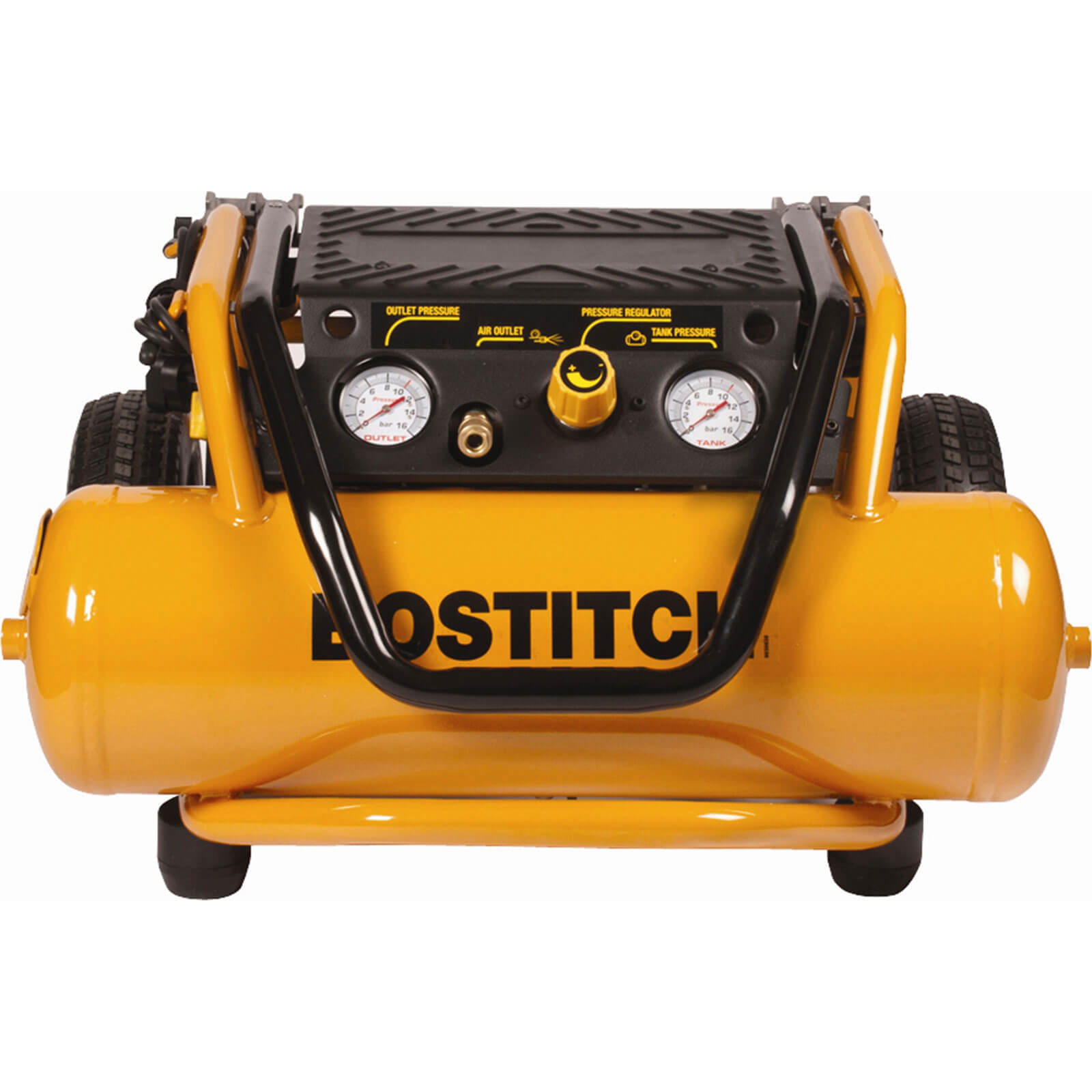 Bostitch PS20-U Site Electric Air Compressor with 20 Litre Tank & Wheels 1800w 110v