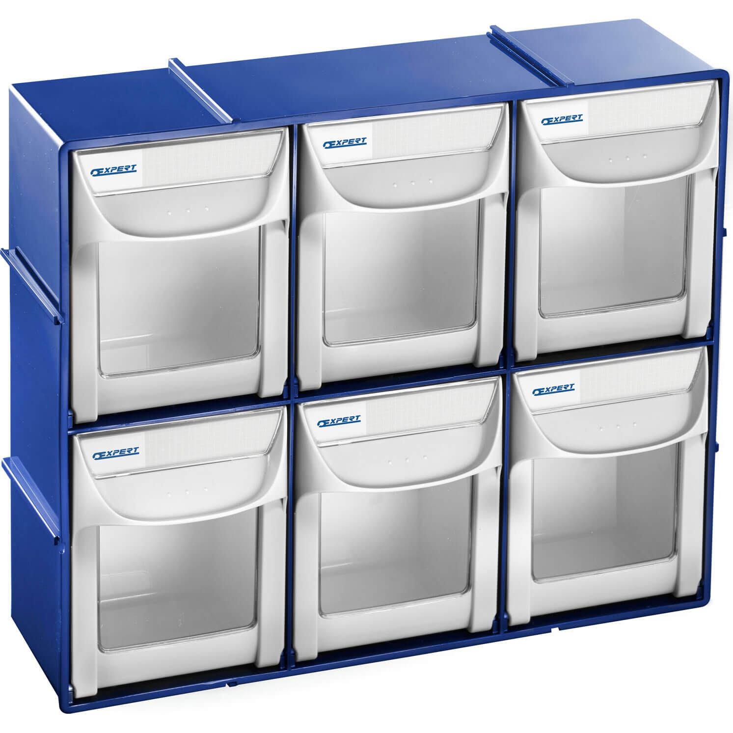 Britool Expert Quick Tip Out Storage Bins for Walls & Work Tops