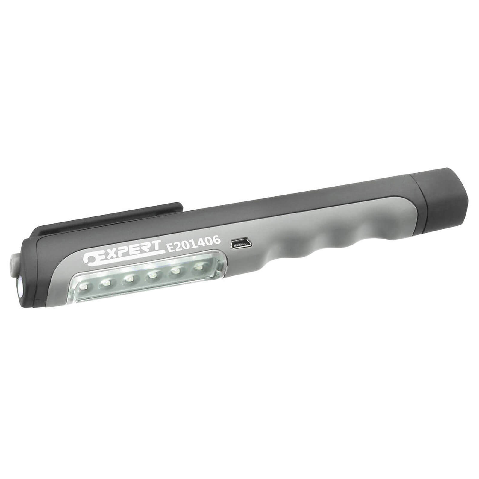 Image of Britool Expert USB Rechargeable LED Pen Light Torch 45 Lumens