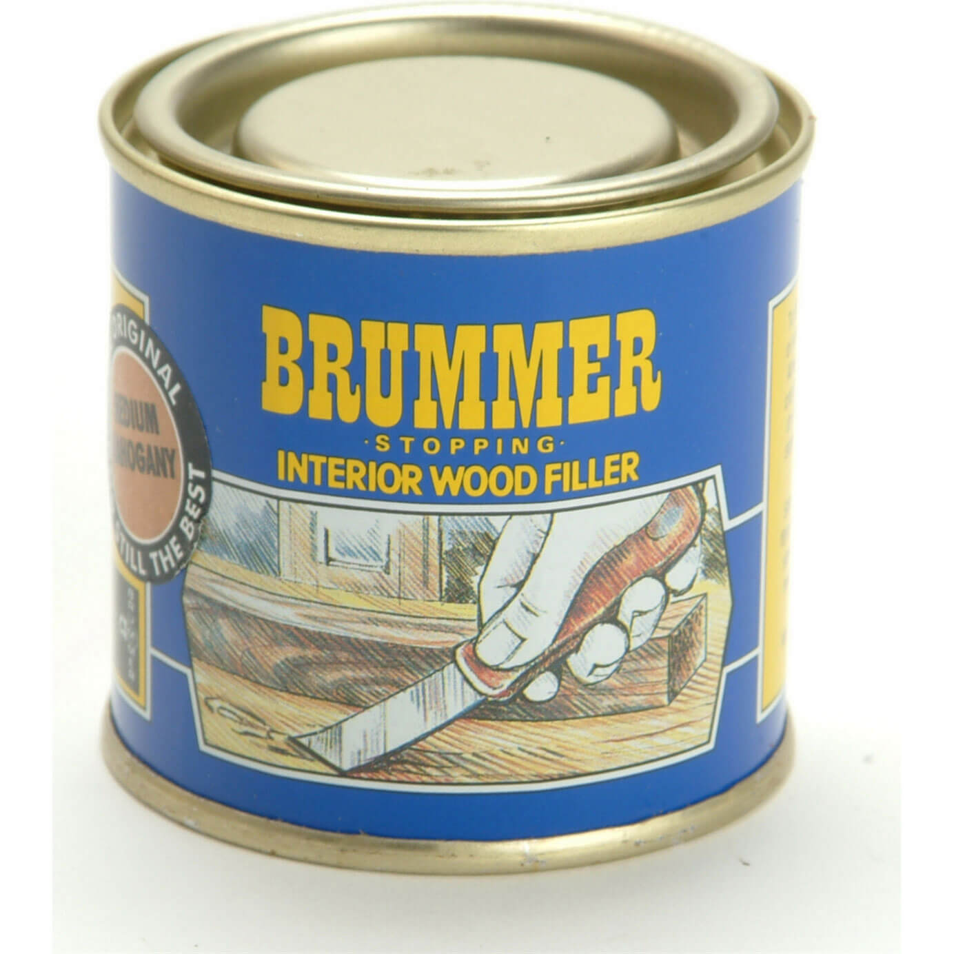 Brummer Medium Yellow Label Dark Mahogany