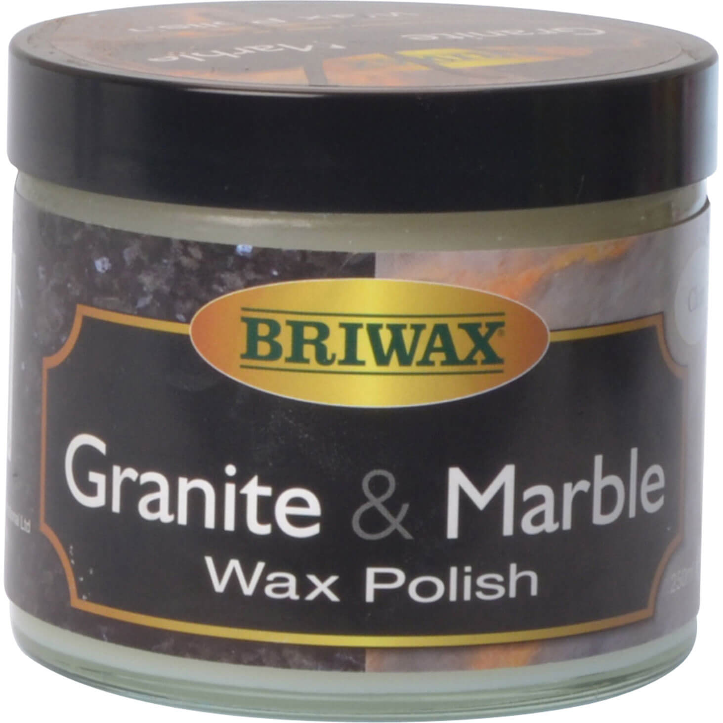 Briwax Marble and Granite Wax Clear 250ml