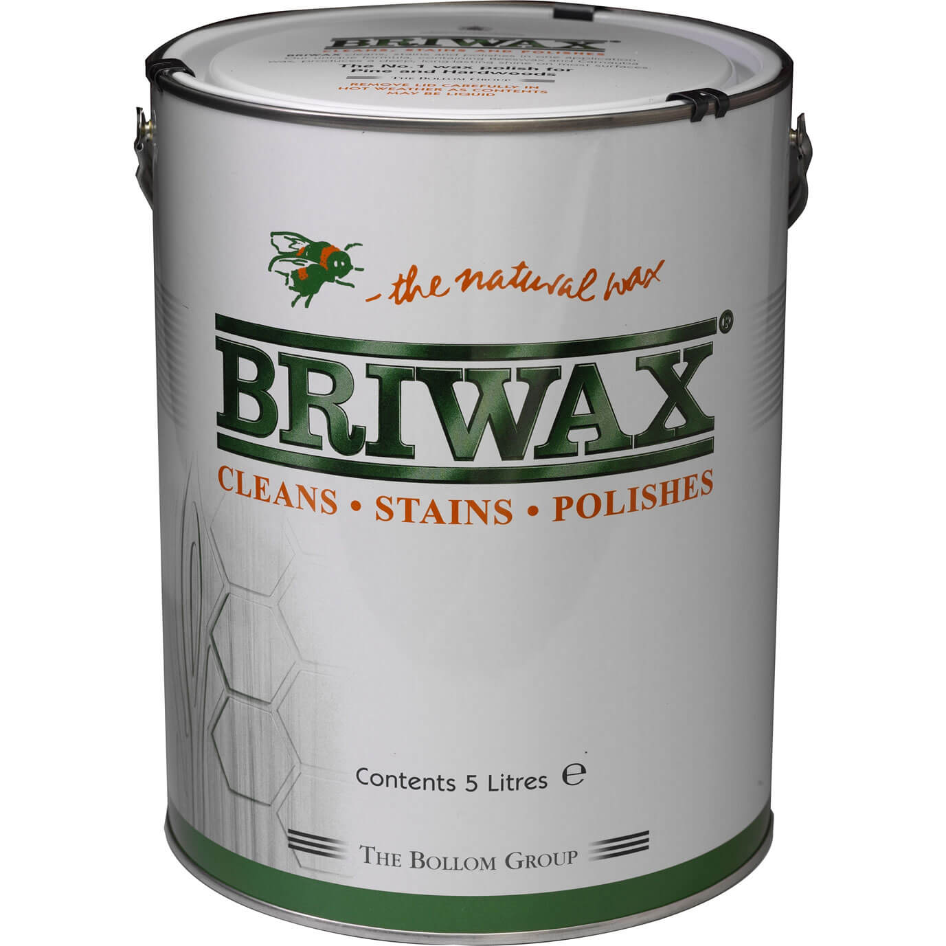 Briwax Antique Brown Wax Polish Original 5L
