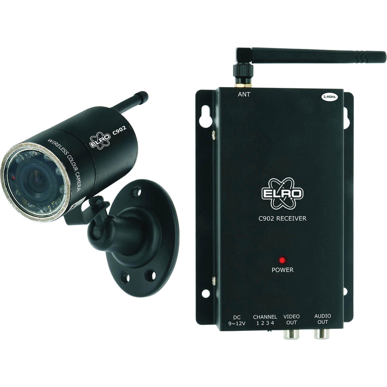 Offerta: Byron C902 Colour Security Camera with Night Vision 240v