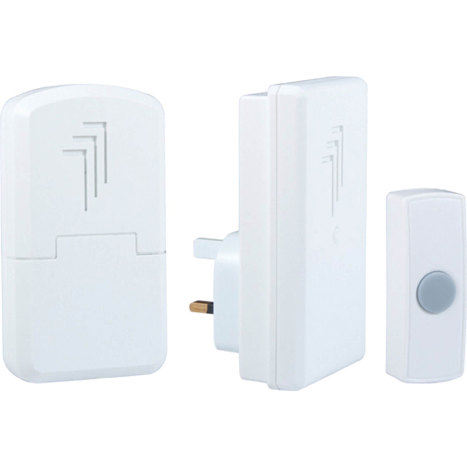 Byron DB312 Wireless Portable or Plug In Door Chime Kit