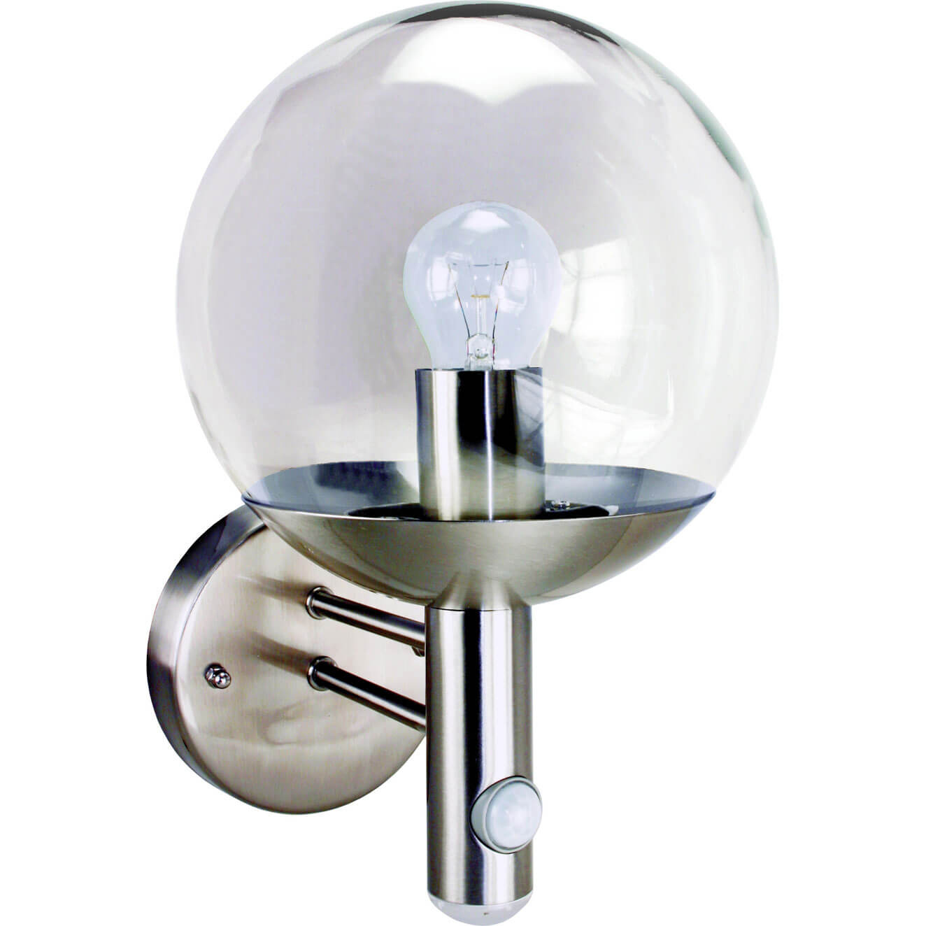 Byron RVS46LA Stainless Steel Security Light with Motion Detector 240v