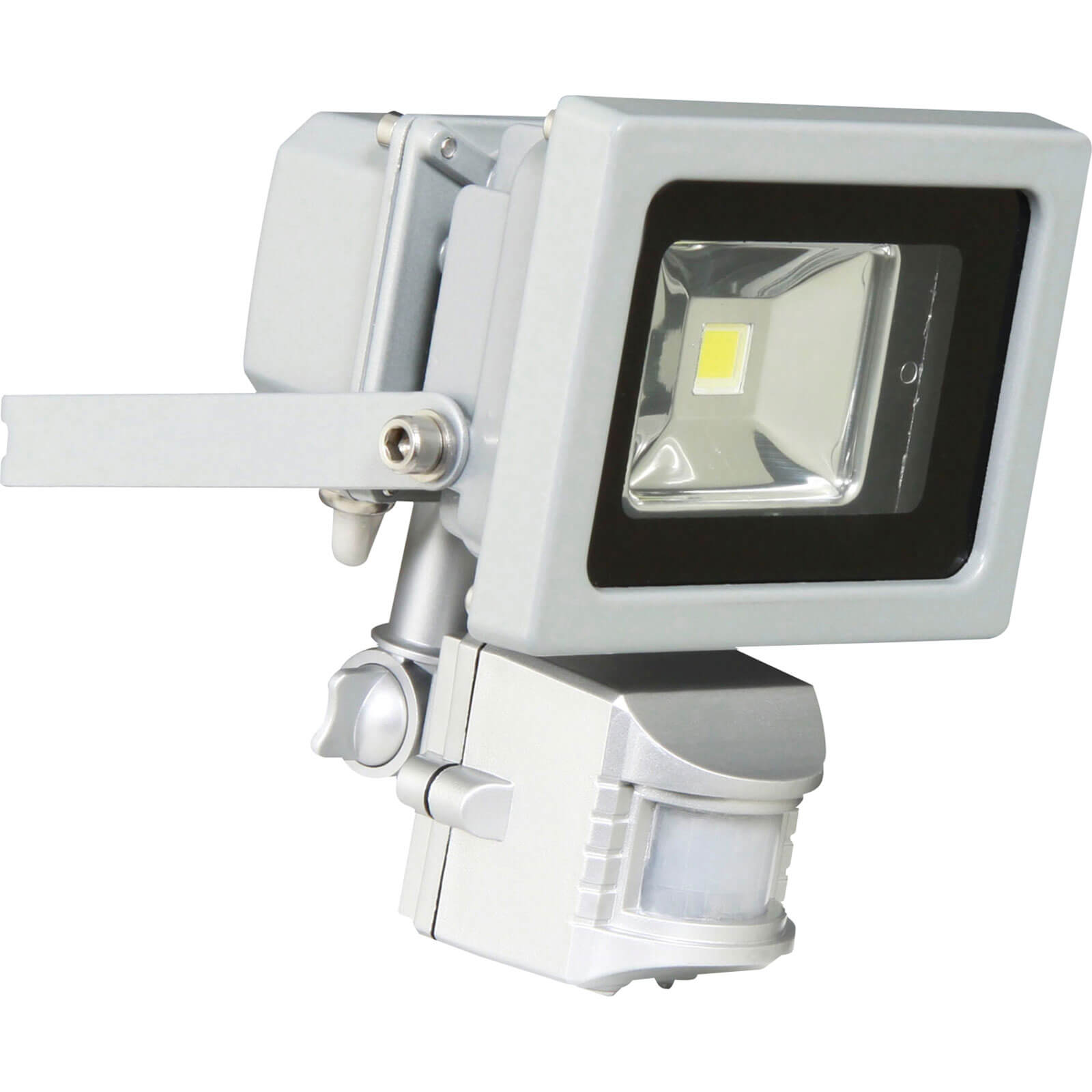 Byron XQ1162 SMD LED Floodlight 800 Lumens with PIR Motion Sensor 10w 240v