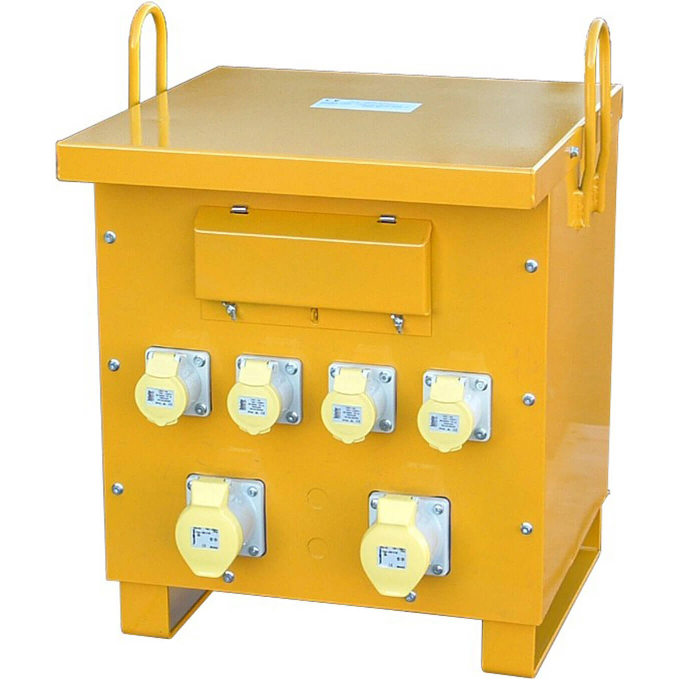 Carroll & Meynell 10Kva 415v (3 Phase) to 110v Step Down Site Power Tool Transformer with 6 16amp Sockets