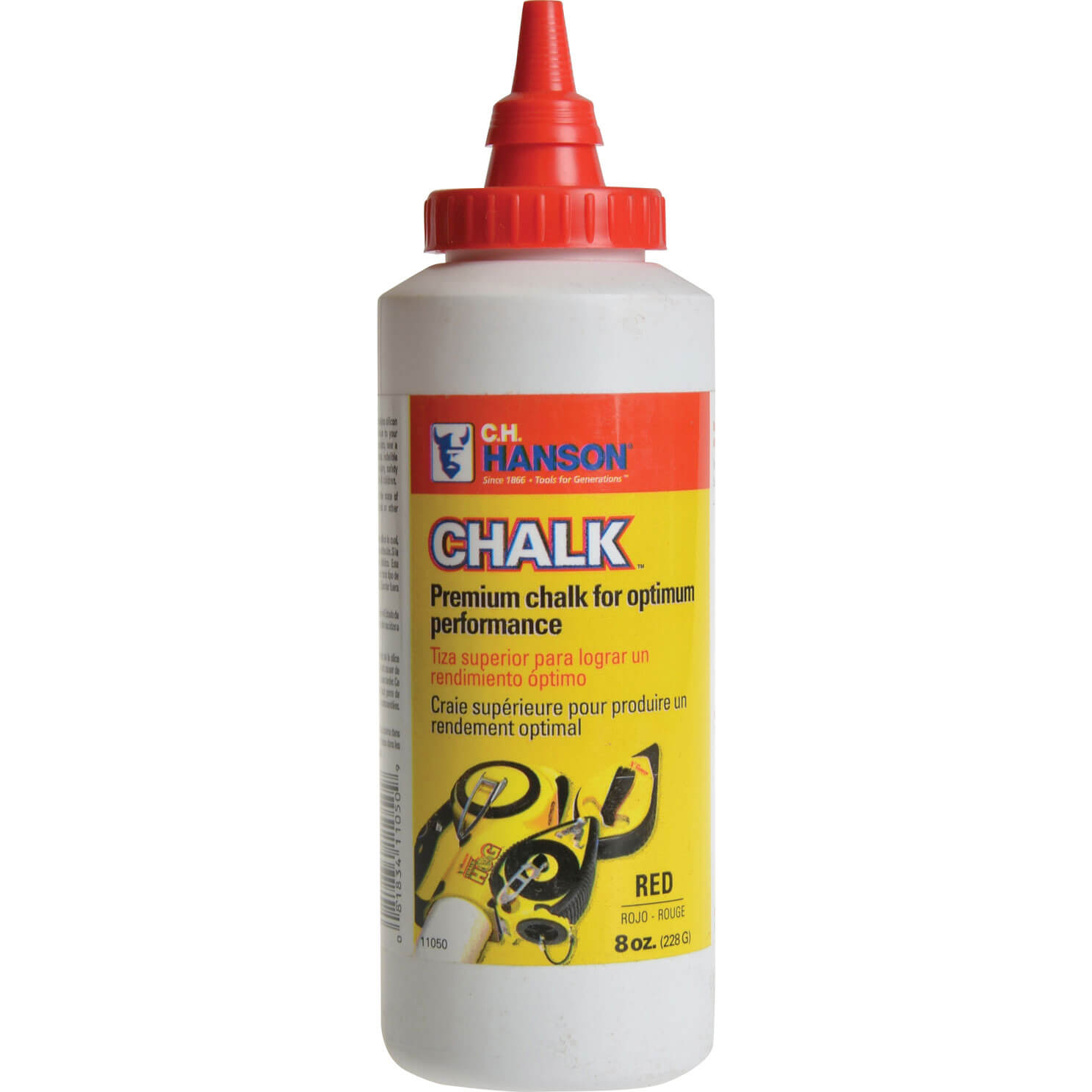 Tooled Up/Tools/Lasers & levelling/Hanson Chalk Refill 8oz Red