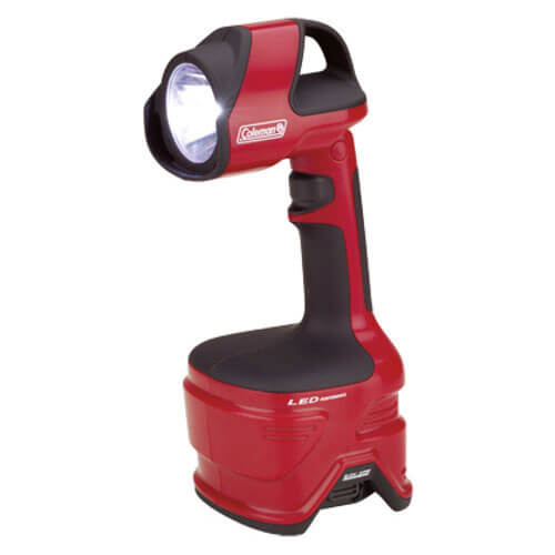 Coleman CPX 6 Pivoting LED Work Light 158 Lumens Torch Size 4 x D Batteries or Optional CPX 6v Rechargeable Battery