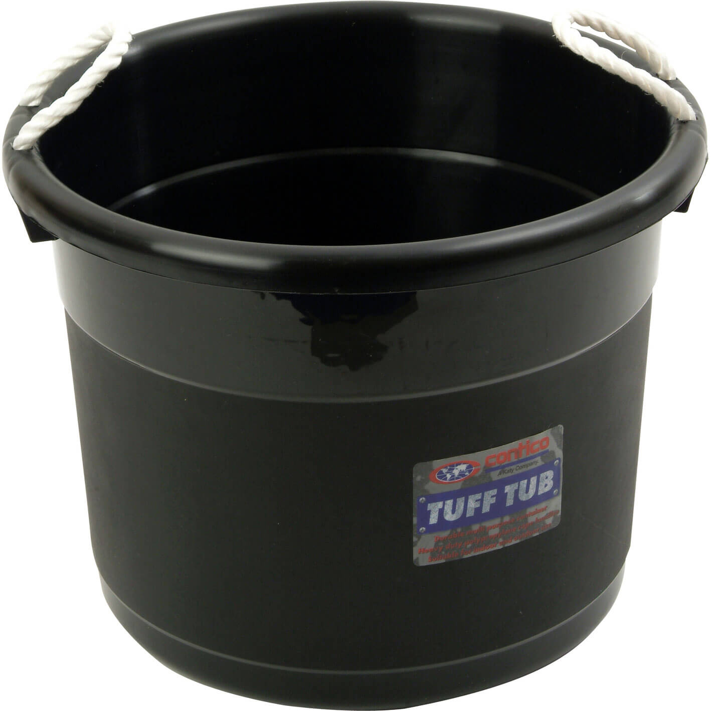 Contico Muck Bucket Black 39L