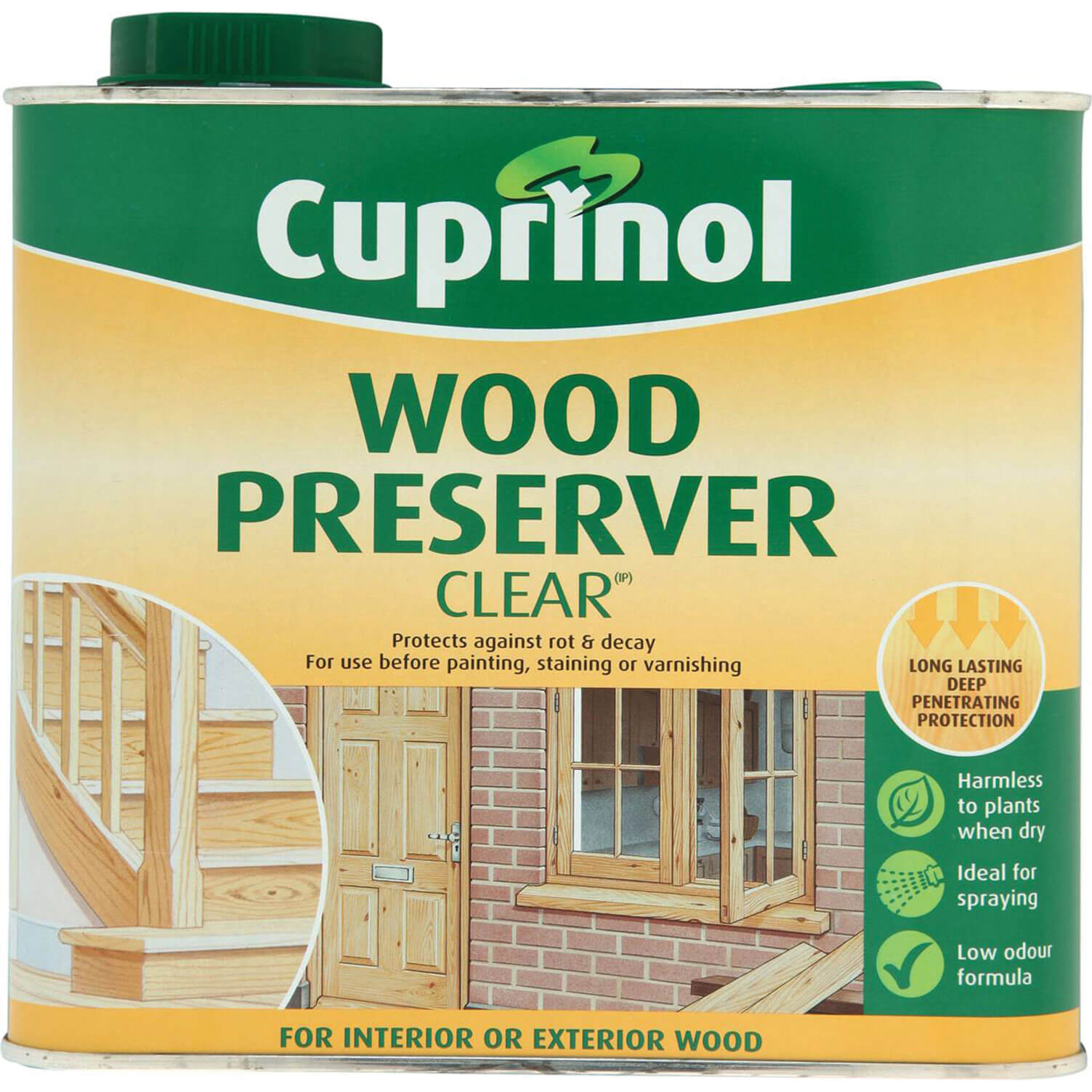 Wood care cuprinol wood preserver clear 2 5 litre special offers Cuprinol exterior wood preserver clear