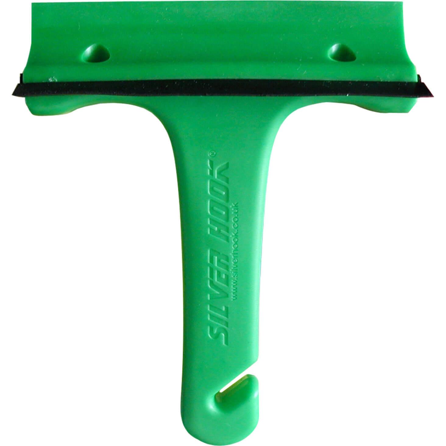 Tooled Up/Car & Van/Automotive Tools & Parts/Silver Hook Ice Scraper & Squeegee Green