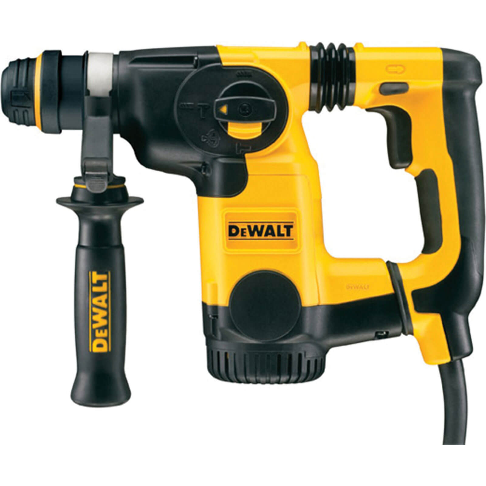 DeWalt D25323K Low Vibration SDS Plus Hammer Drill 3 Mode 800w 240v