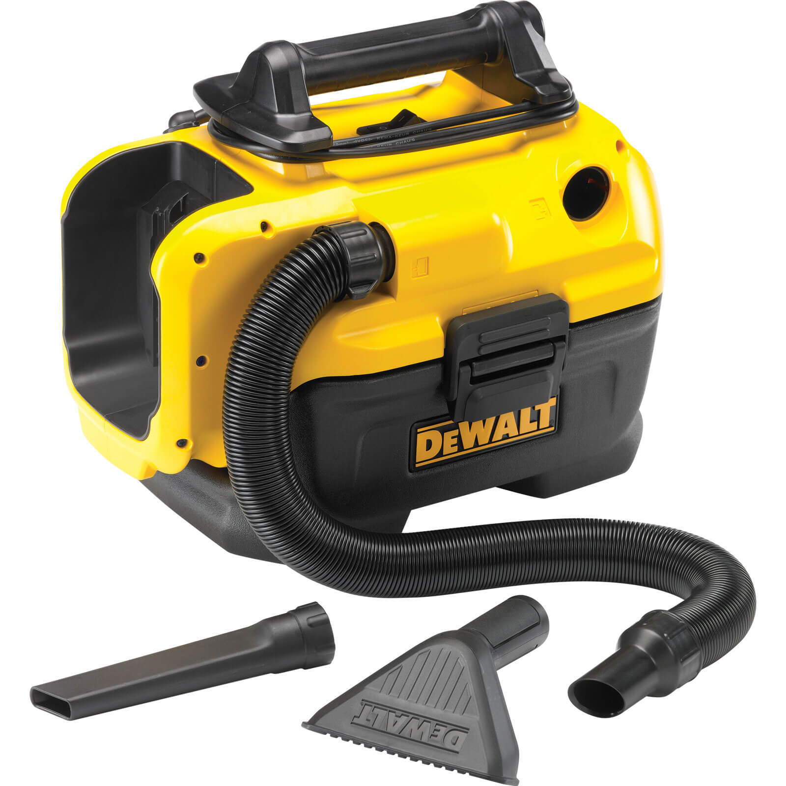 Image of DeWalt DCV582 18v / 240v Cordless & Electric XR Wet & Dry Vacuum Cleaner without Batteries or Charger