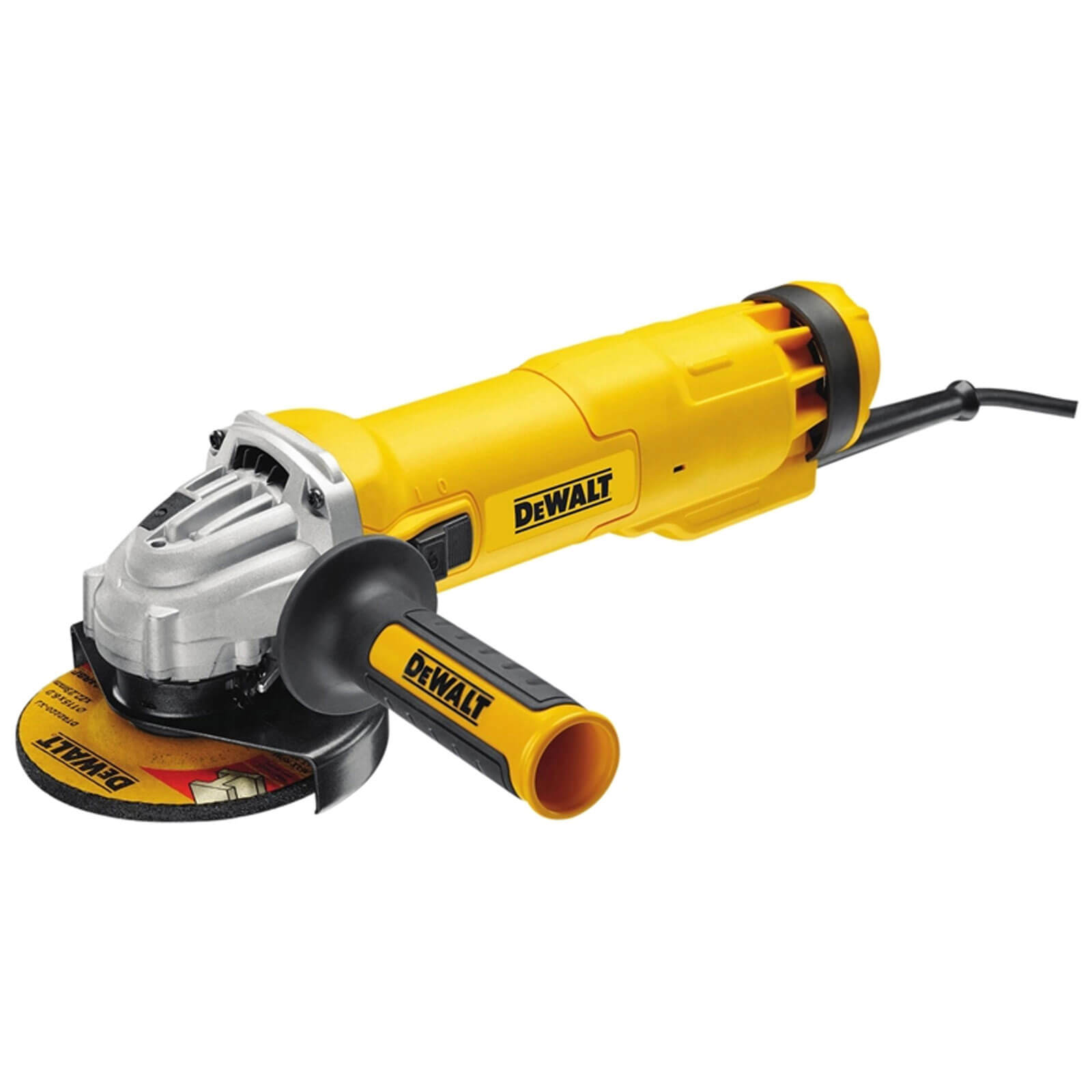 "Image of DeWalt DWE4206 Angle Grinder 115mm / 4 1/2"" Disc 1000w 240v"