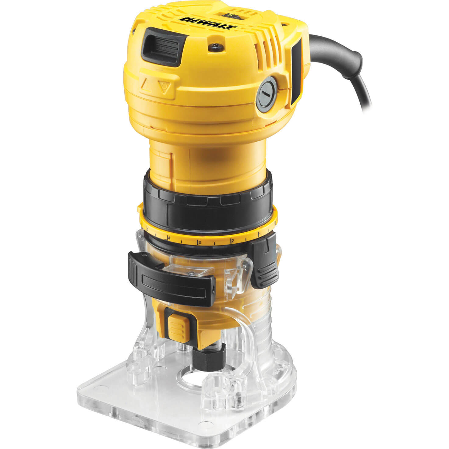 Image of Dewalt DWE6005 Variable Speed Laminate Trimmer 590w 240v