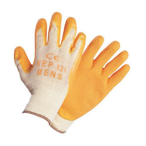 Tooled Up/Safety & Workwear/PPE/Builders Grip Glove Medium Orange Size 8