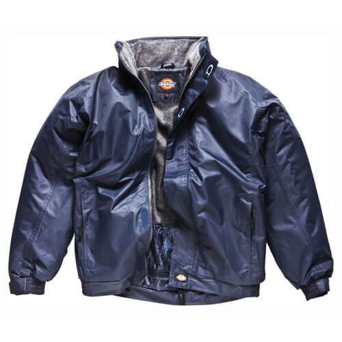 Dickies Mens Cambridge Jacket Navy Blue 3XL