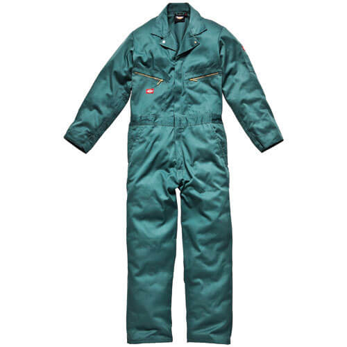 Dickies Mens Deluxe Overalls Lincoln Green Large Tall Leg