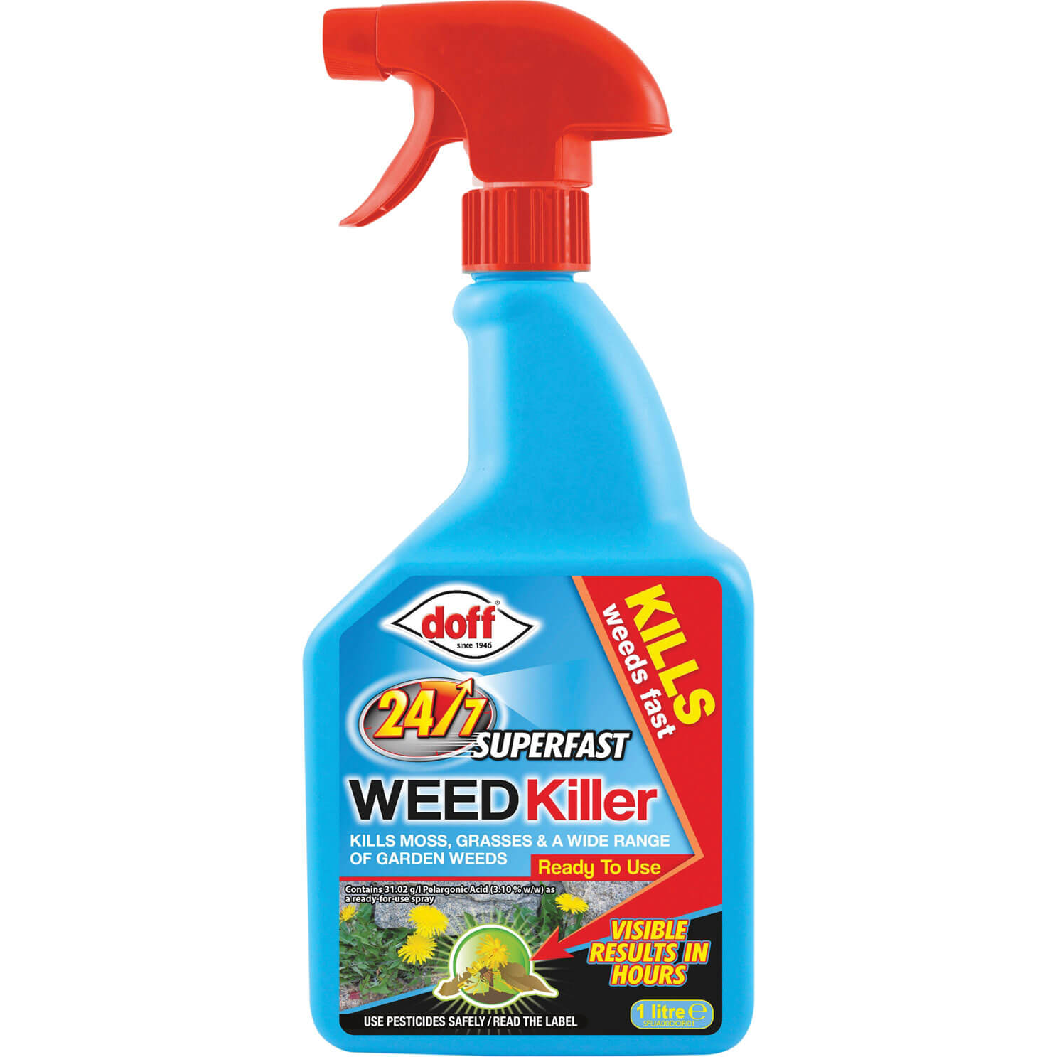 Doff 24/7 Super Fast Acting Weed Killer 1L