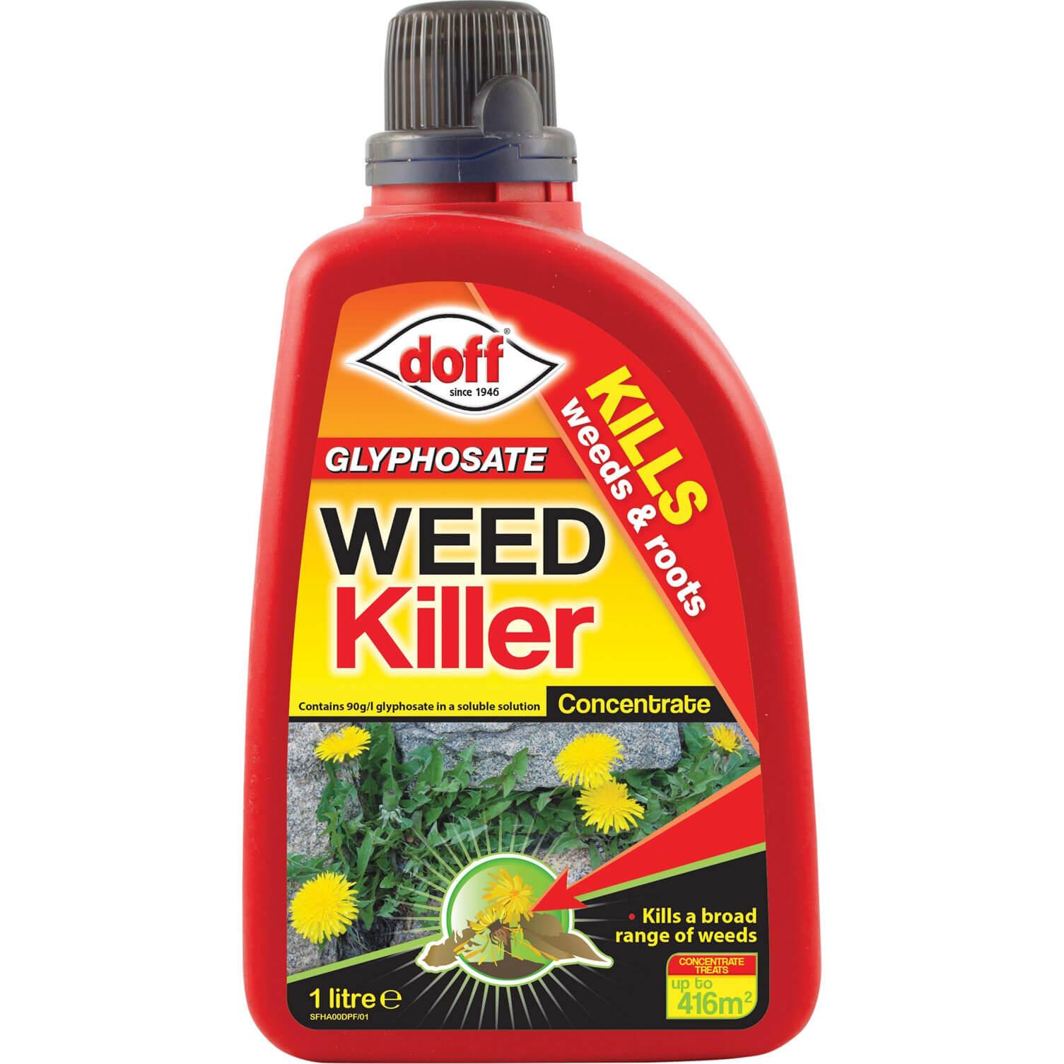 Image of Doff Glyphosate Weedkiller Concentrate 1L