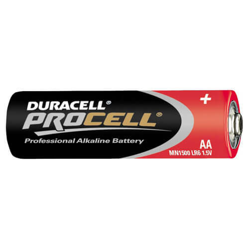 Duracell Procell AA Batteries Pack of 10