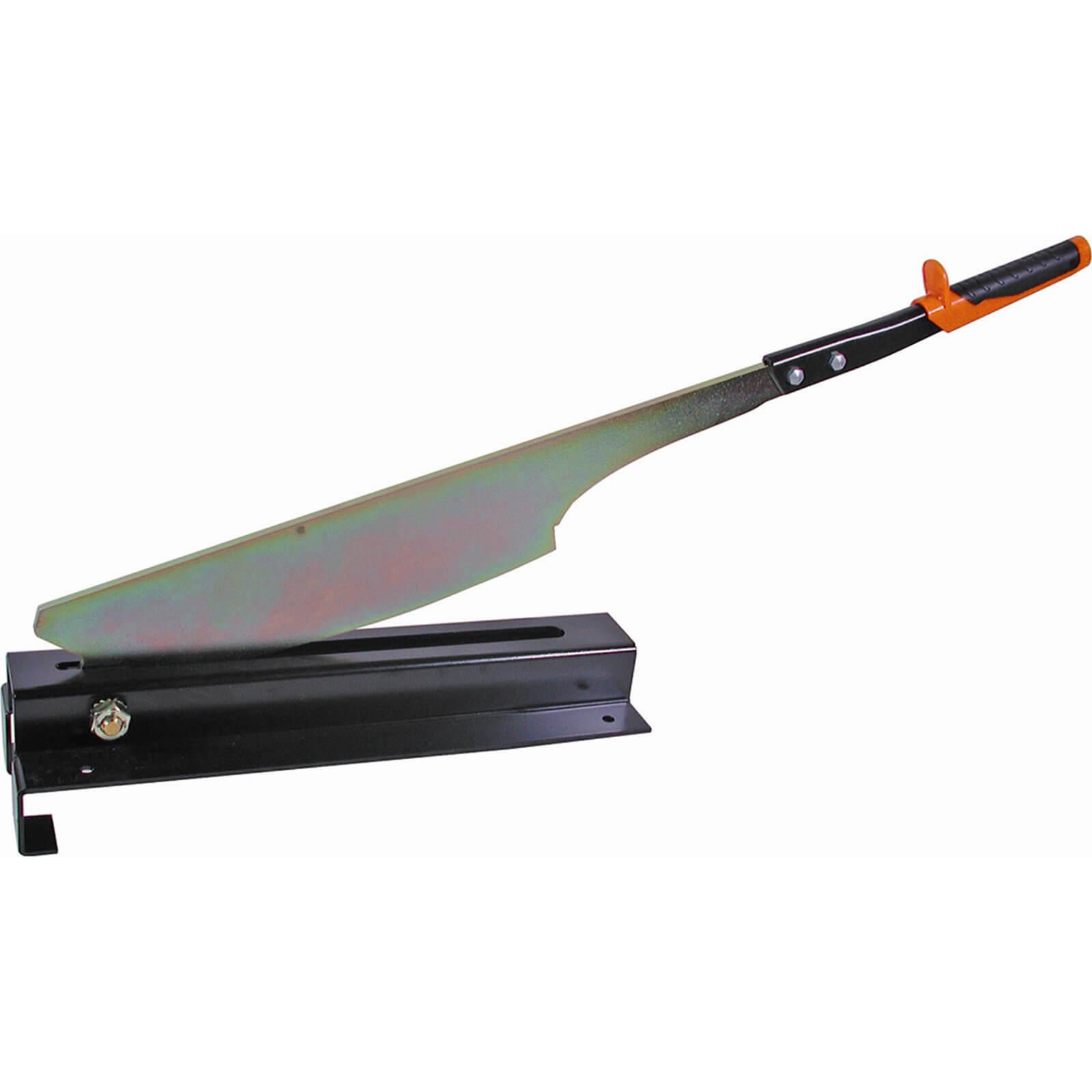 Edma Pro Mat Coup Roof Slate Guillotine Machine