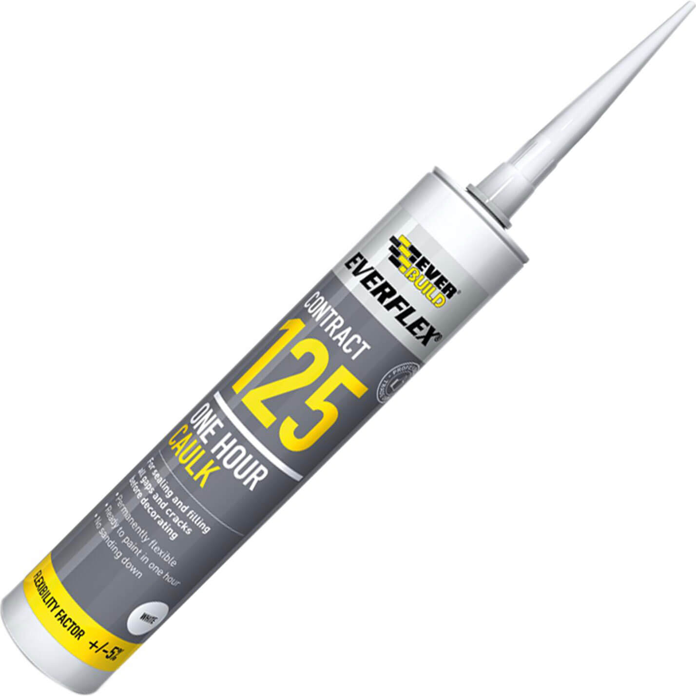 Tooled Up/Sealants & Adhesives/Sealants/Everbuild One Hour Decorators Caulk Brown