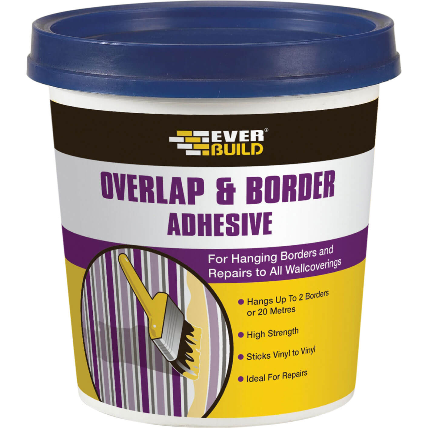 Tooled Up/Sealants & Adhesives/Adhesives/Everbuild Overlap & Border Adhesive 250g