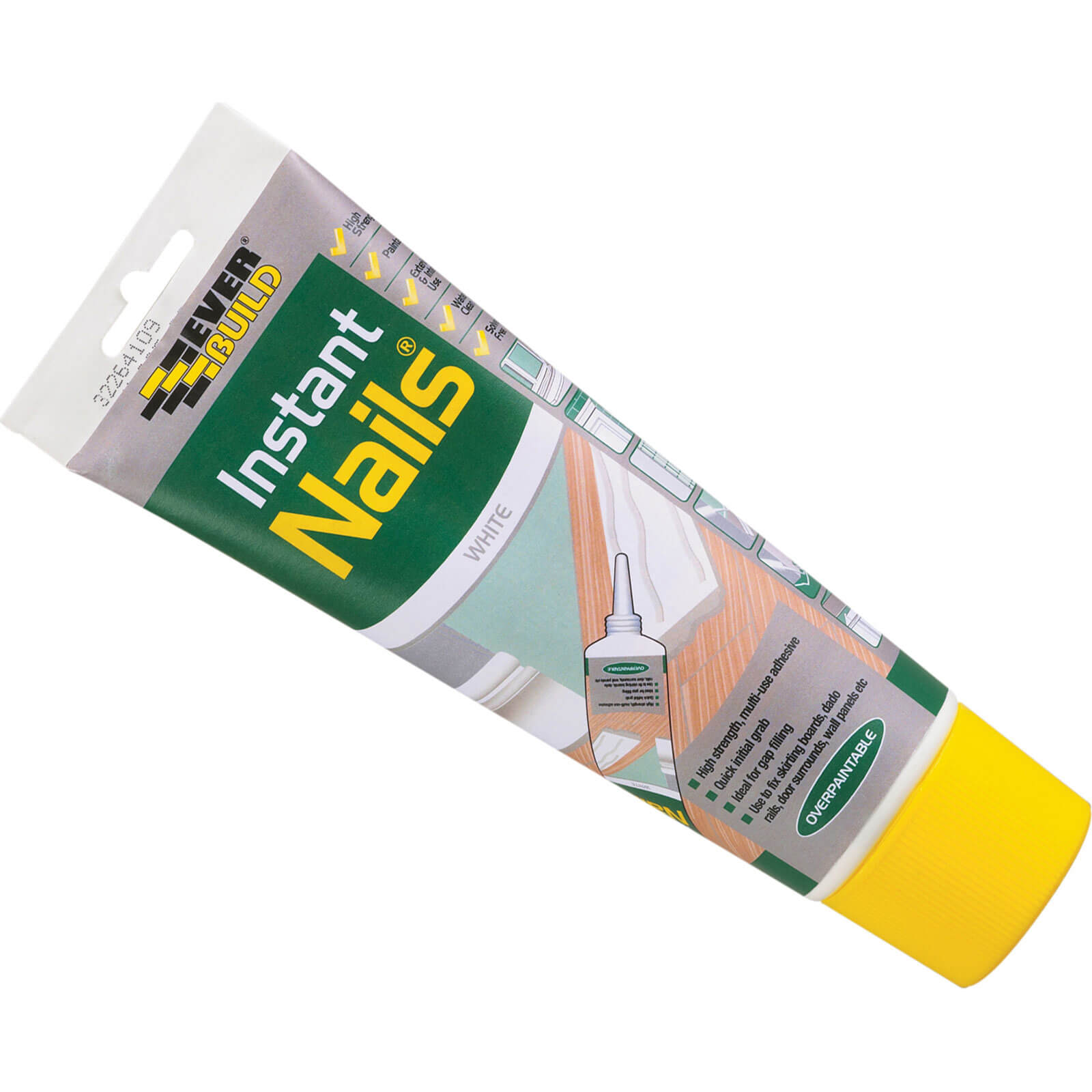 Tooled Up/Sealants & Adhesives/Adhesives/Everbuild Easi-sq Instant Nails Adhesive 200ml