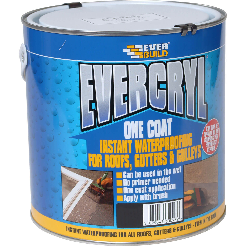 Everbuild Evercryl One Coat Grey 2.5kg
