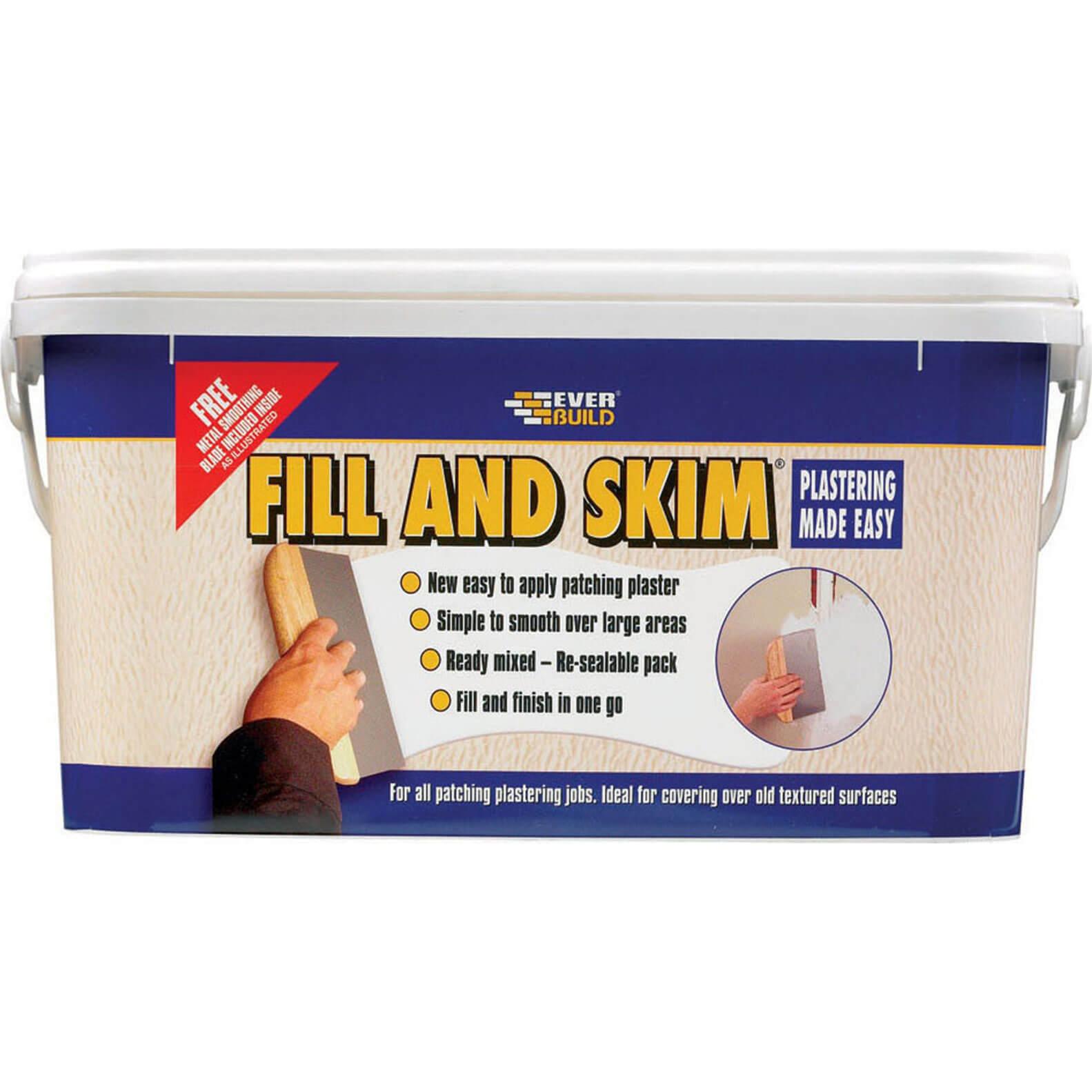 Everbuild Fill 7 Skim 5L Tub