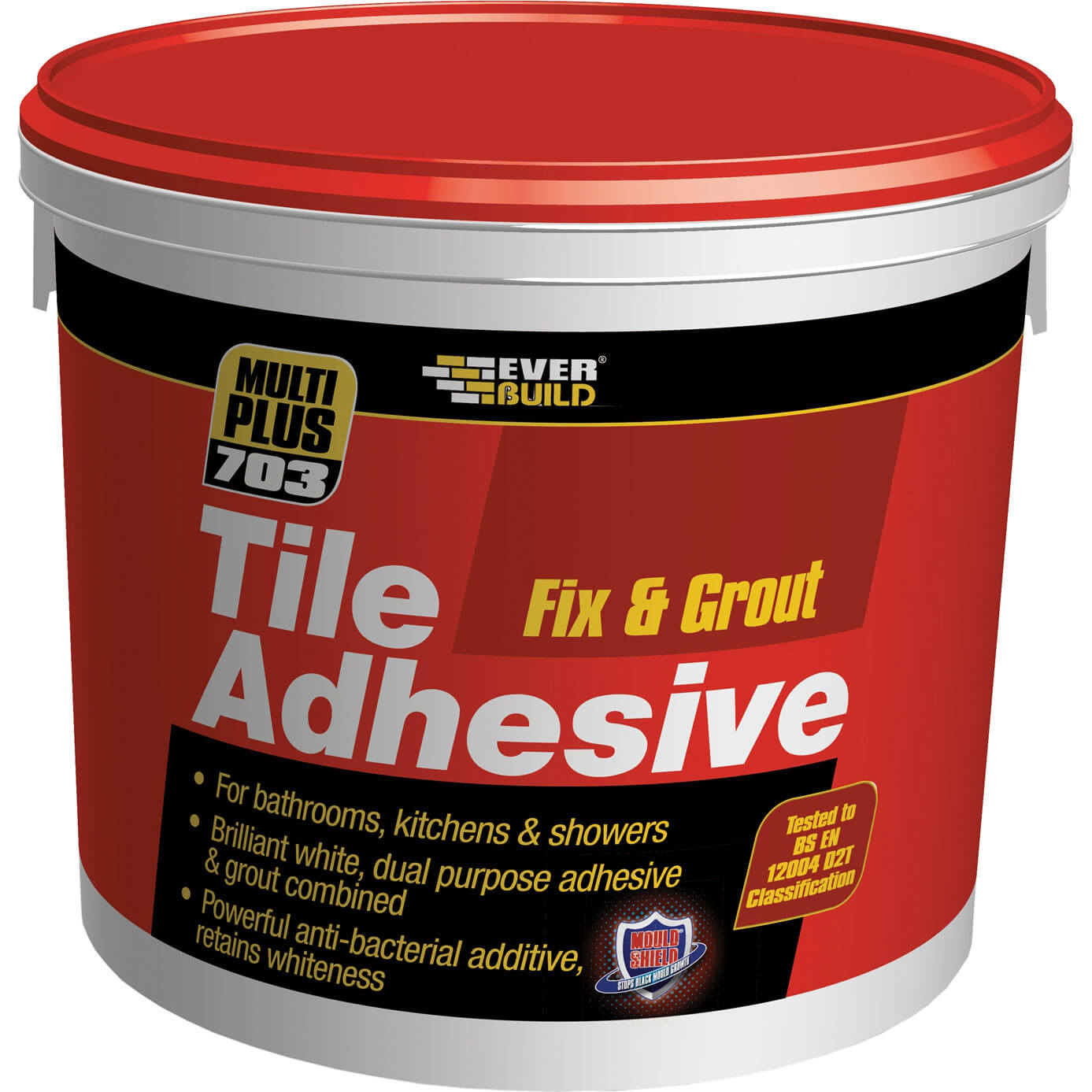 Everbuild Fix & Grout Tile Adhesive 500ml/750g