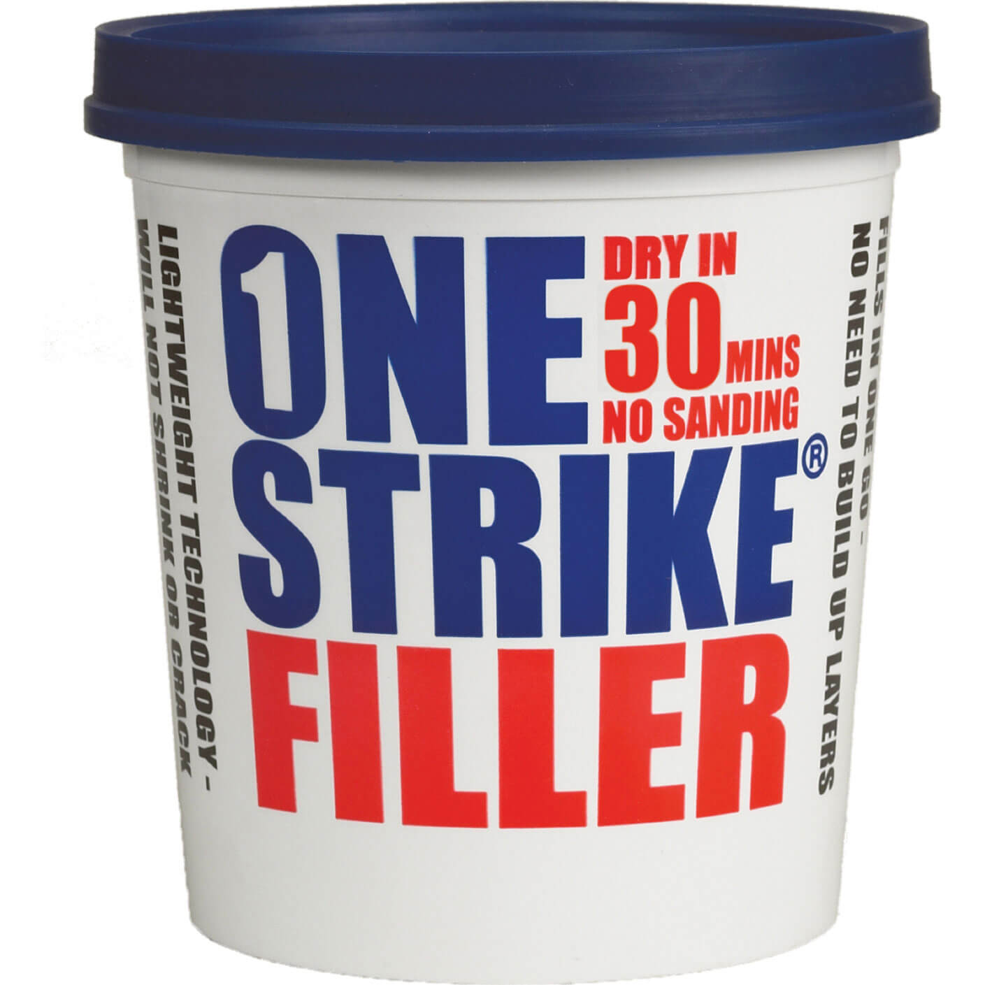 Tooled Up/Sealants & Adhesives/Fillers/Everbuild One Strike Filler 250ml