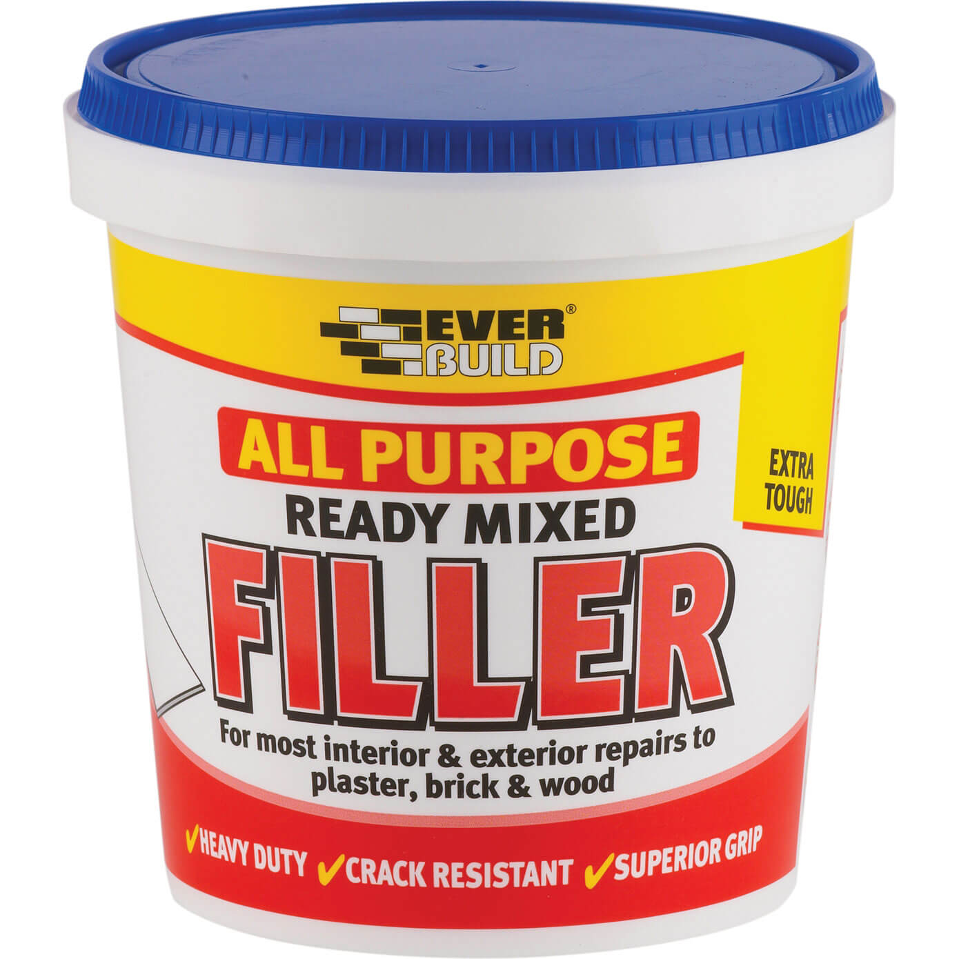 Tooled Up/Sealants & Adhesives/Fillers/Everbuild All Purpose Ready Mixed Filler 1kg
