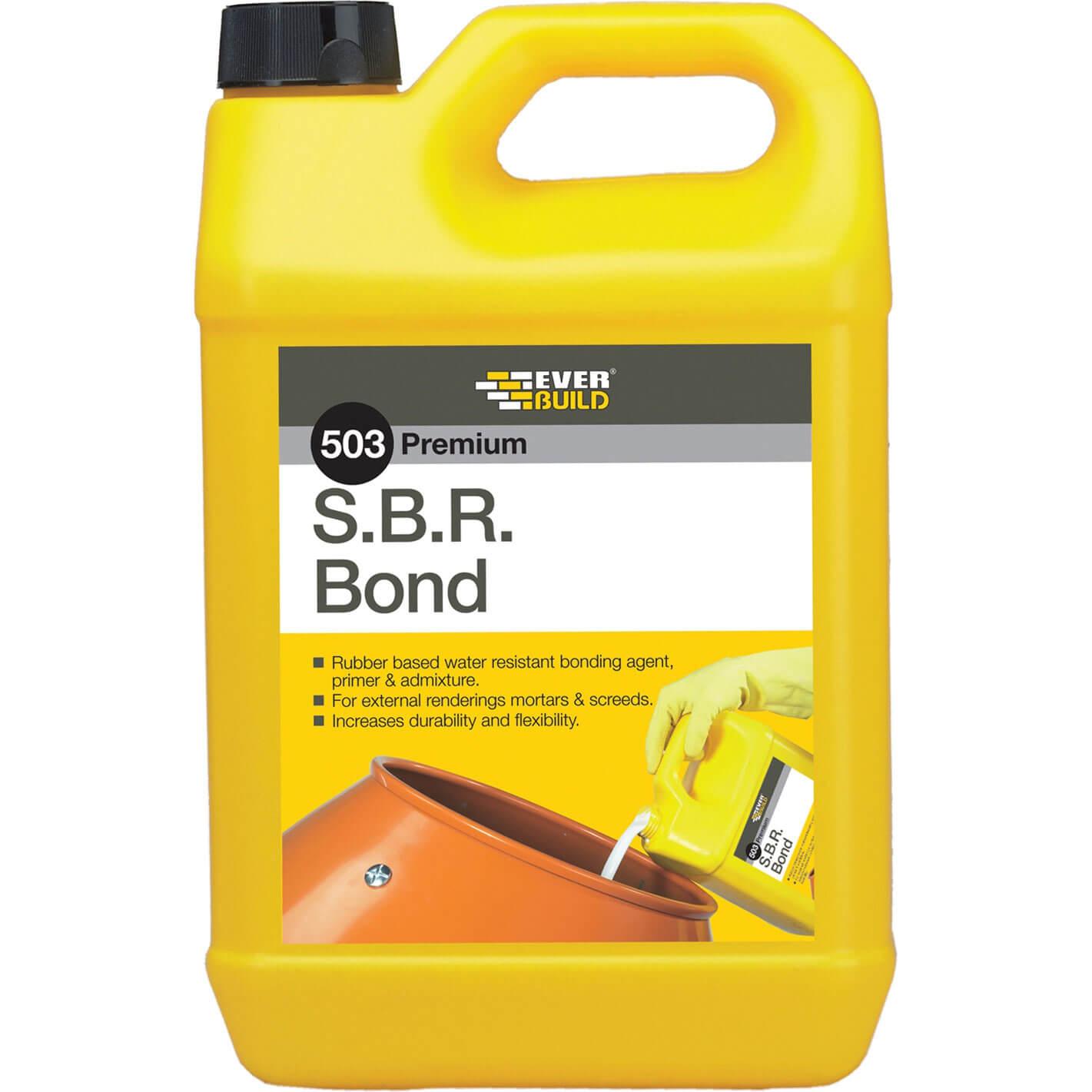 Everbuild 503 SBR Bond Water Resistant Cement Bonding Agent 2.5L