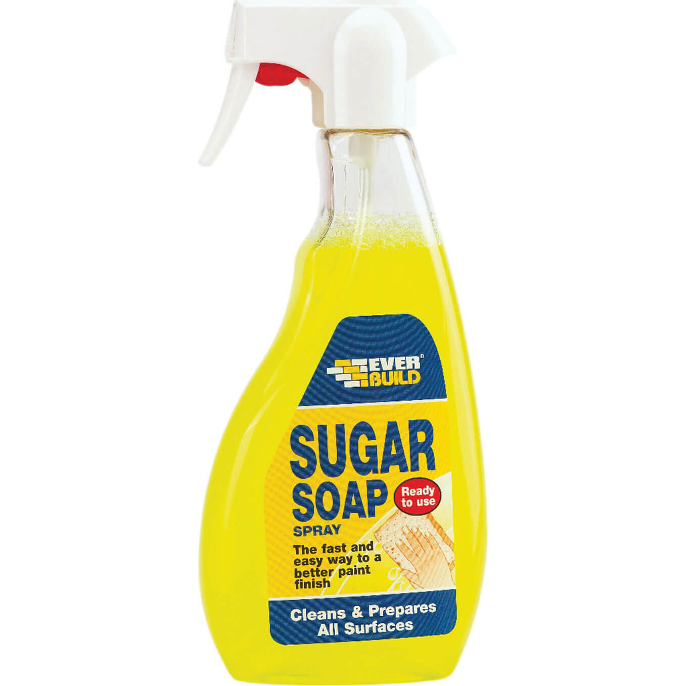 Tooled Up/Cleaning & Decorating/Paint & Woodcare/Everbuild Sugar Soap Spray 500ml