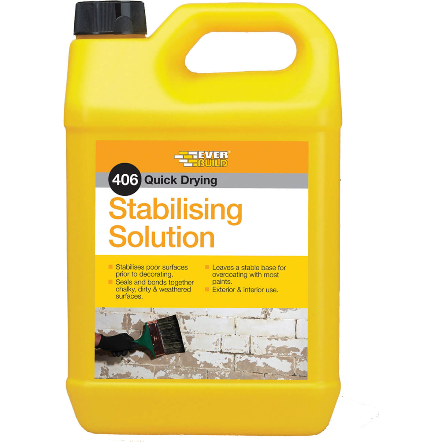Everbuild 406 Stabilising Solution for Most Surfaces 5L