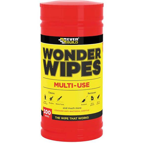 Everbuild Wonder Wipes Trade Tub of 100