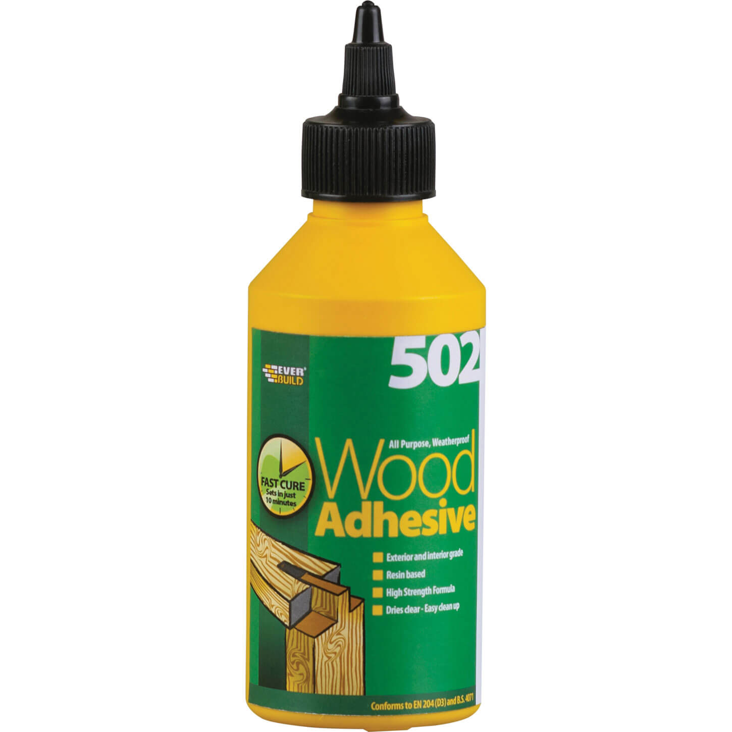 Tooled Up/Sealants & Adhesives/Adhesives/Everbuild 502 All Purpose Weatherproof Wood Adhesive 75ml